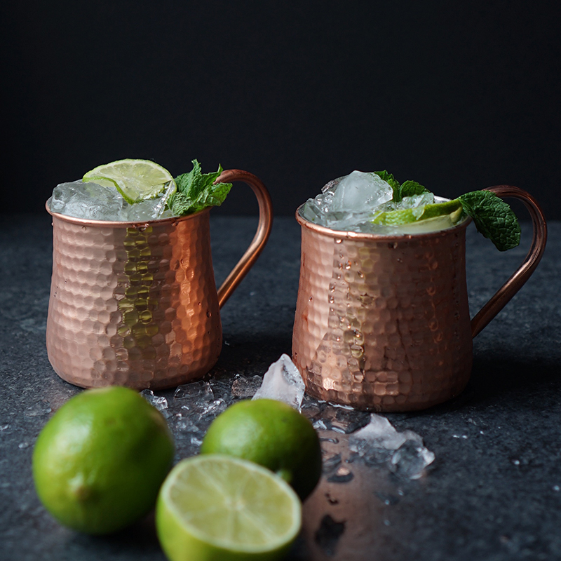 10 Wheat Ginger Mule