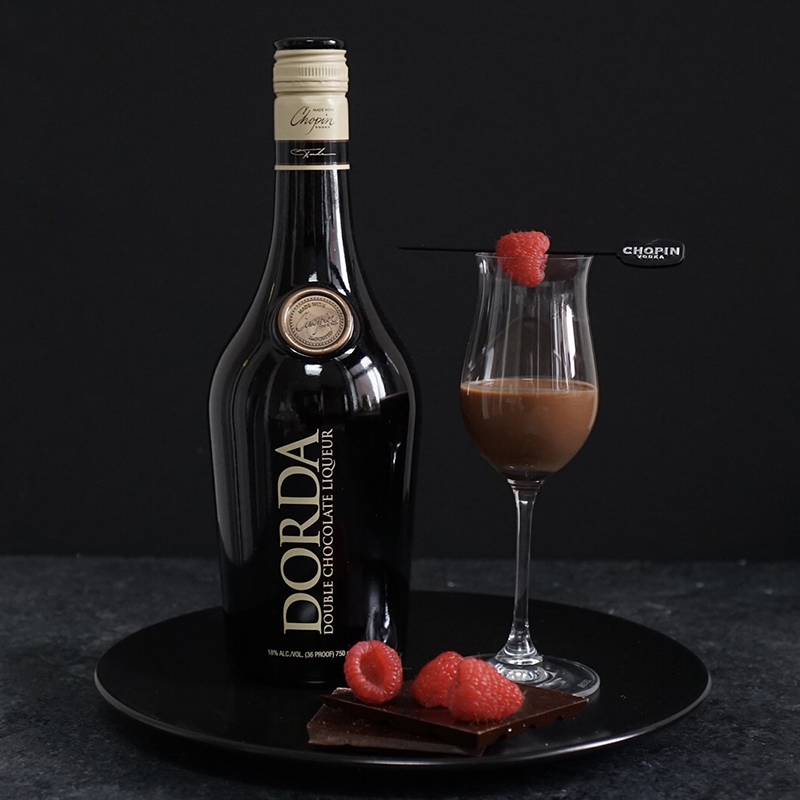 Dorda Double Chocolate Liqueur Neat