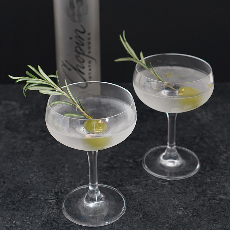 Rosemary and Potato Martini